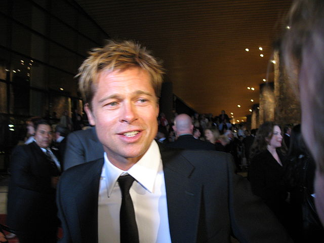 Brad Pitt and solar energy in california